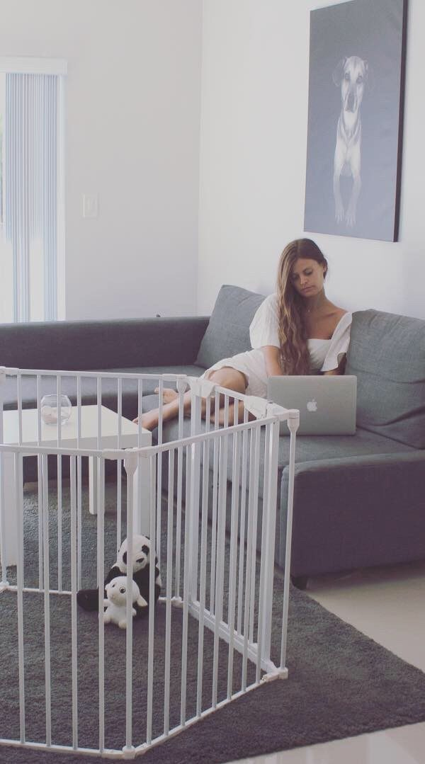 The Drambaby's Safety Gates: the safe area where your child can play!